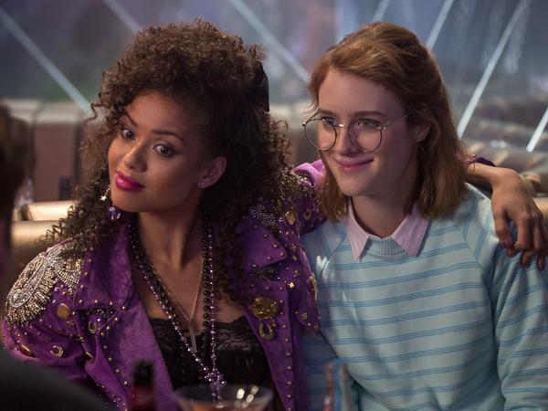 "Gugu Mbatha-Raw and Mackenzie Davis star in the <em>Black Mirror</em> episode, ""San Junipero."" Season 3 of the series is available to stream on Netflix beginning Oct. 21."