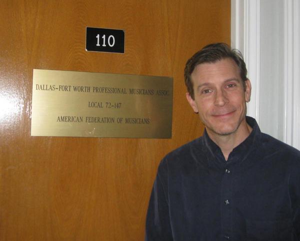 Dallas/Fort Worth Musician's Union President Stewart Williams