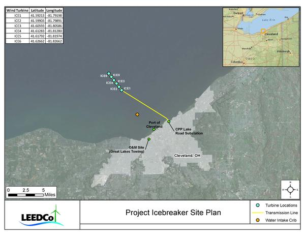 Map of Project Icebreaker