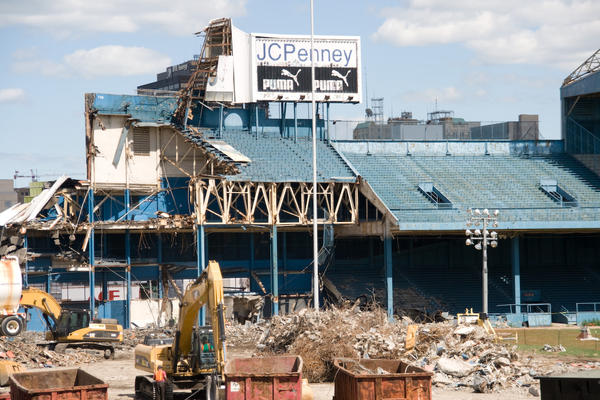 For many Detroit Tigers fans, the demolition of Tiger Stadium remains a source of anger.