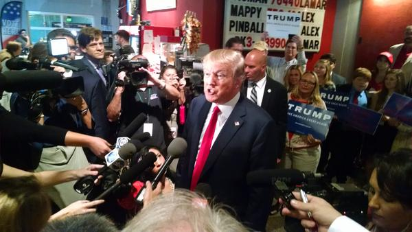 President Donald Trump visited Tennessee several times during the campaign.