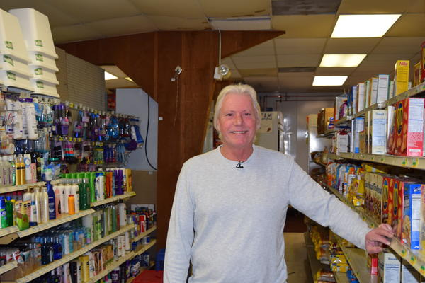Greg Hughes, owner of Island General Store