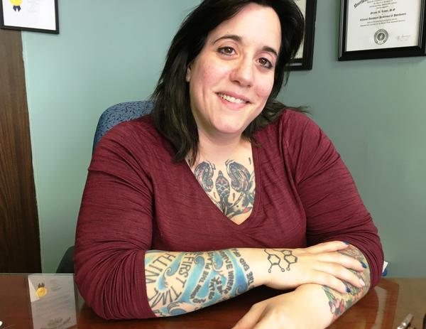 Dr. Nicole Labor treats addiction at Akron's St. Thomas Hospital, carrying on the tradition begun there in 1935 of treating addiction as a disease.