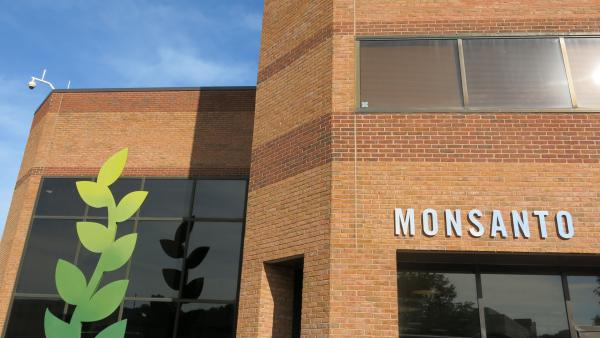 A building on Monsanto's Chesterfield, Missouri, research campus.