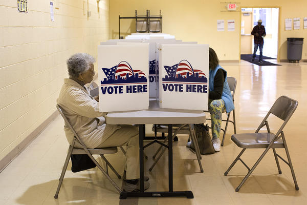 Voter turnout is notoriously low, unless people are voting for president.