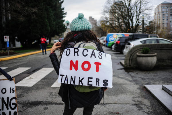 <p>In November 2016, thousands of protestors demonstrated in Vancouver, British Columbia, in opposition to Prime Minister Justin Trudeau's approval of a Trans Mountain pipeline expansion.</p>