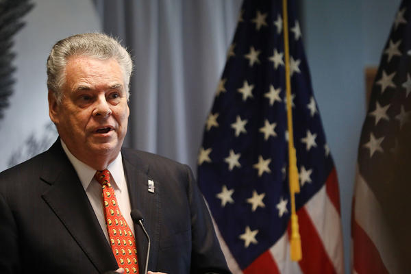 Rep. Peter King, a Republican representing Long Island, has been heavily lobbied by groups on both sides of the GOP health care bill who are intent on getting him to vote their way.