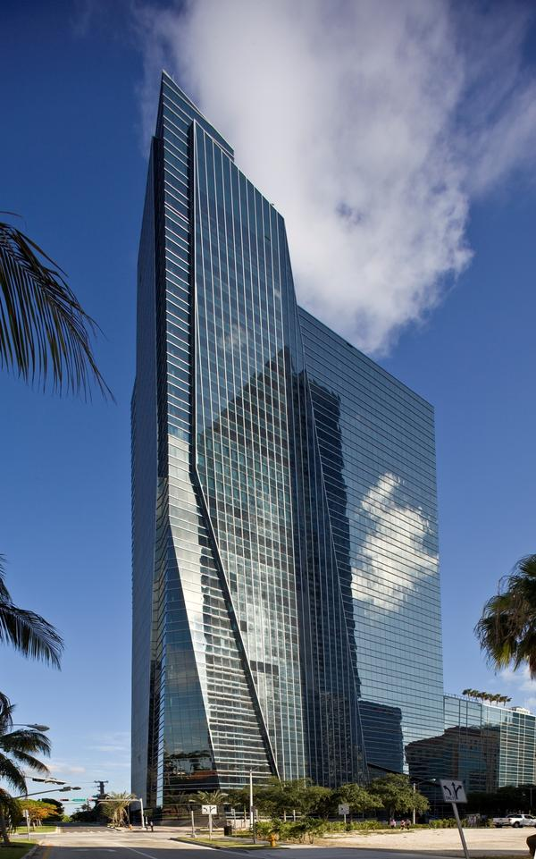 Alan Ojeda is the developer behind 1450 Brickell, a 35-story building in Miami that's received a gold rating for leadership in energy and environmental design (LEED).