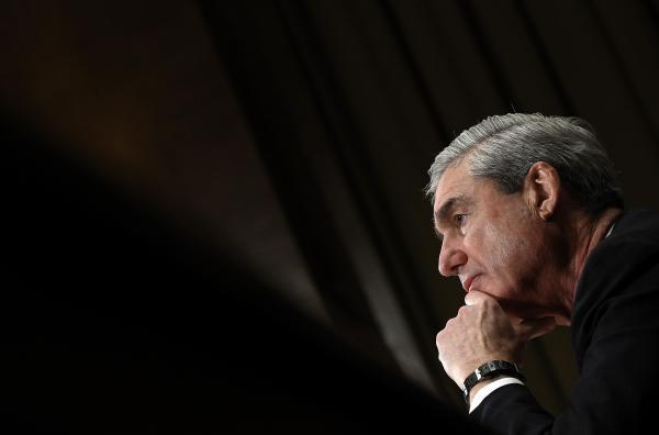 Former FBI Director Robert Mueller testifies before the Senate Judiciary Committee on December 14, 2011