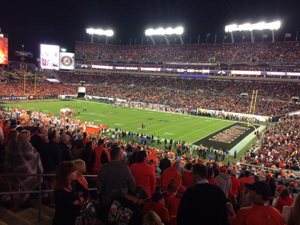 Raymond James Stadium, which saw a record crowd for the 2017 College National Championship game, will host Super Bowl LV in 2021.