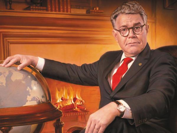 Sen. Al Franken's new book is facetiously titled <em>Giant Of The Senate.</em>