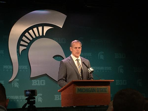 Michigan State football coach Mark Dantonio says he made the decision himself to immediately kick three players charged with assault off the team.
