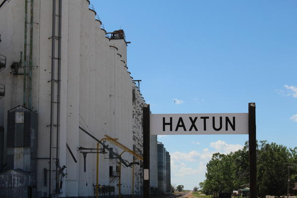 The small town of Haxton on Colorado's eastern plains has seen a declining population.