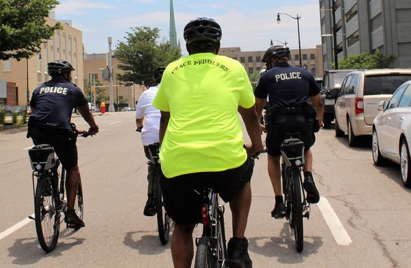 Project Peace Peddlers is a grassroots community organization that allows veterans to be the eyes and ears for the Detroit Police Department, focusing on quality of life issues.