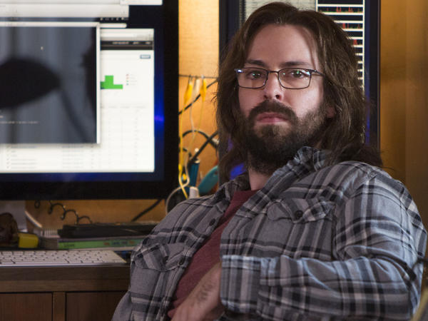 """Martin Starr plays software designer Gilfoyle in the HBO comedy <em>Silicon Valley</em>. In the show's new season, Gilfoyle and his fellow techies attend a startup competition named """"Disrupt."""""""