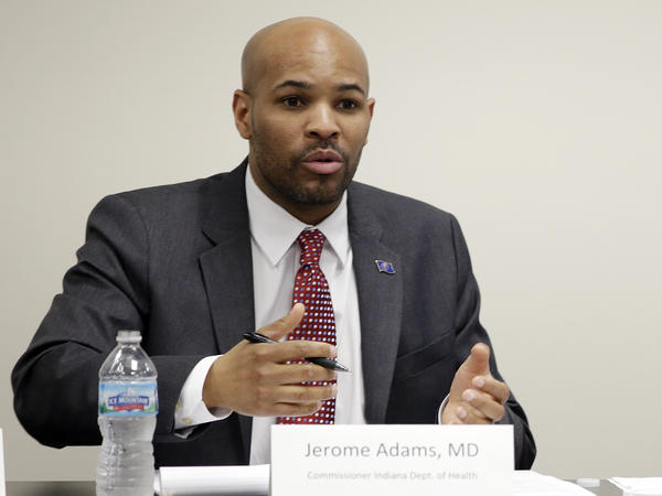 Indiana State Health Commissioner Dr. Jerome Adams is President Trump's nominee for U.S. Surgeon General.