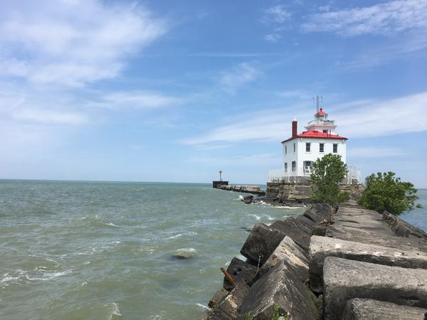 The Fairport Harbor West Breakwater Lighthouse