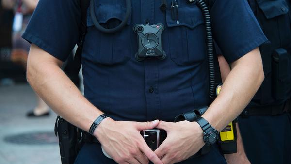 Minneapolis police are now required to turn on body cameras, like this one seen on a Cleveland police officer, in more than a dozen situations — including traffic stops and prior to any use of force, according to the police department's Policy and Procedure Manual.