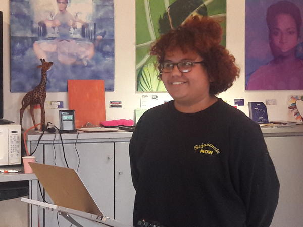 Heidy Rodriguez, 17, participated in the Changemakers Summer Program.