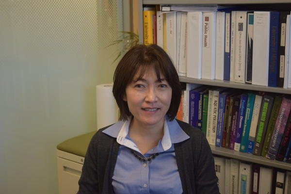 Dr. Jiyoung Lee studied the impact of microcystin-contaminated water on vegetables