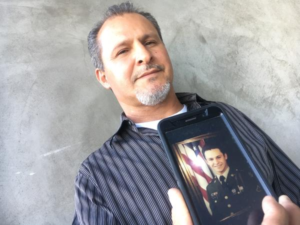 Mario Martinez, 54, an Army veteran, is facing deportation after serving four years in California state prison. While serving in the Army in the 1980s, he was deployed to Germany as part of U.S. forces sent to guard the Berlin Wall.