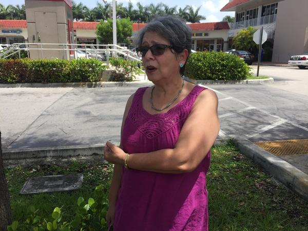Lucia Huete Suarez worries for the health of herself and her daughter if Obamacare is repealed.