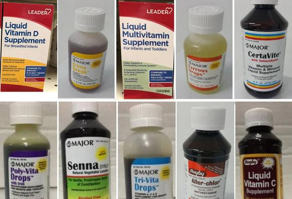 Some of the drugs which were produced at PharmaTech and are under advisory for potential contamination
