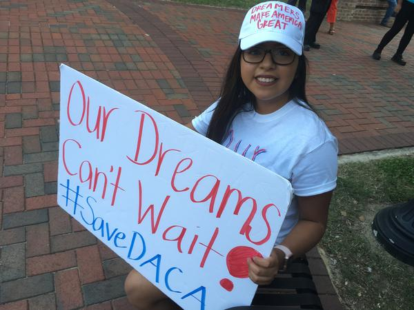Miriam Amado-Lopez is a senior at University of Olive and a DACA recipient.