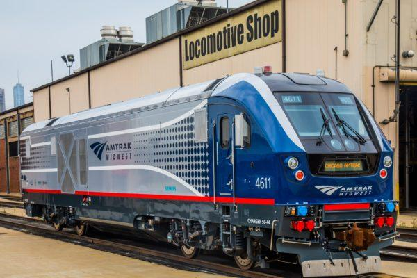 "IDoT said the new locomotives are ""attractive and modern."""