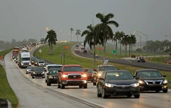 South Floridians head north on the Turnpike to escape Hurricane Irma when it seemed to be heading for Miami.