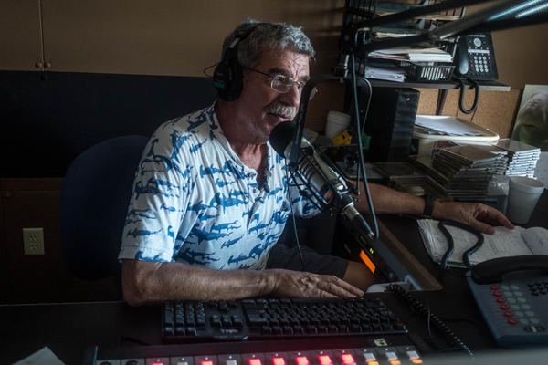 Bill Becker, U.S. 1 Radio's news director since 1980, played a similar role in the Keys as Bryan Norcross did for mainland South Florida during and after Hurricane Andrew.