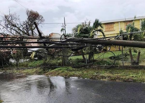 St. Croix's infrastructure was destroyed by Hurricane Maria.