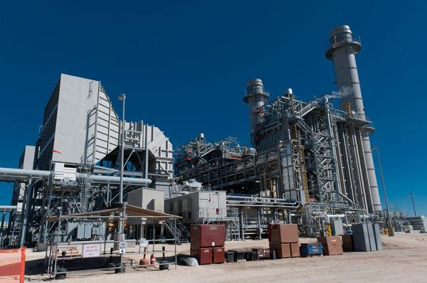 A natural gas-fired power plant owned by local power utility Entergy.