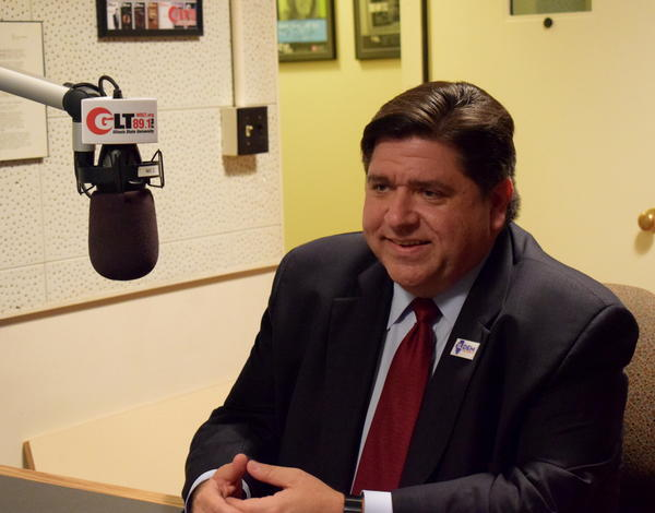 Democratic candidate for JB Pritzker in the GLT studios on Thursday, Oct. 19, 2017.