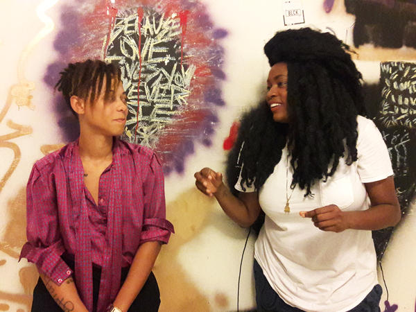 Ocatvia Yearwood and Najja Moon are the co-creators of Lunchbox Miami, a gathering for lesbian, bisexual and queer women.