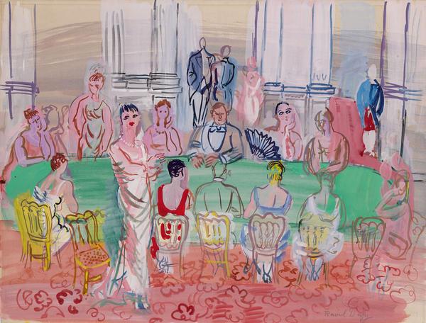 """""""La Fete,"""" by Raoul Dufy, slated for sale by the Berkshire Museum."""