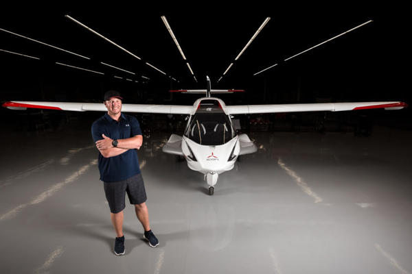 Roy Halladay, showing off his plane in an October promotional photo, died Tuesday when the aircraft crashed into the Gulf of Mexico.
