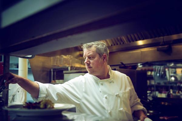 Chef Myles Anton owns Trattoria Stella in Traverse City.