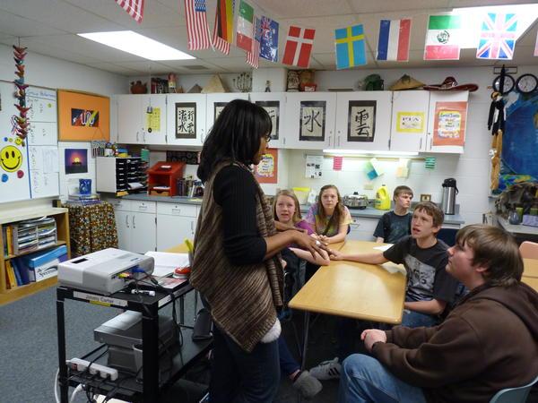Award-winning Michigan teacher Matinga Ragatz calls for education that gives the power to students