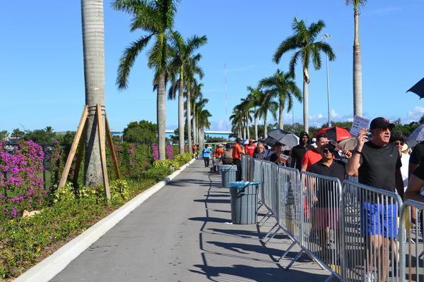 Lines at D-SNAP registration sites ran tens of thousands long.
