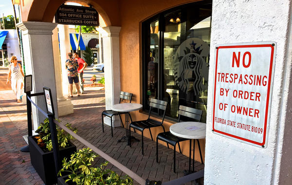 Delray Beach authorities say body brokers used to target recovering drug users hanging out on the patio of a local Starbucks. The coffee shop restricted access to the patio in 2015, after a meeting with the city officials and the police department.