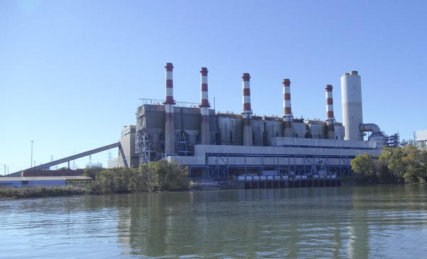 Coal ash comes from Duke Energy's coal-fired Allen plant in Belmont.