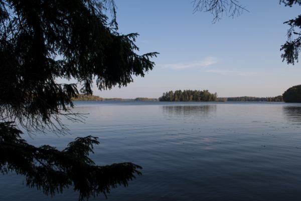 Island in Lake Namekagon.