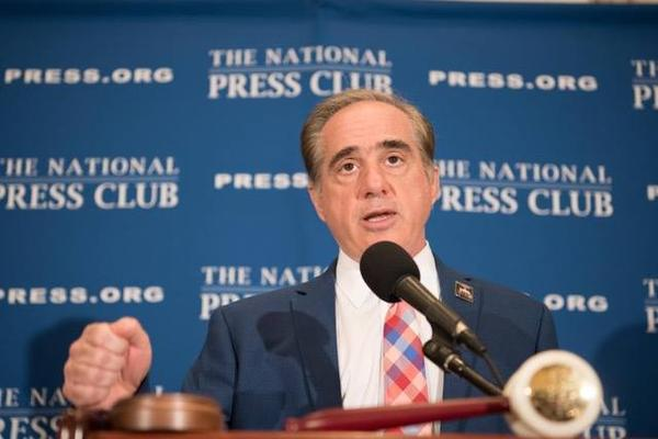 Speaking at the National Press Club Nov. 6, Secretary of Veterans Affairs David Shulkin said he considered Texas shooter Devin Kelley a criminal, not a veteran.