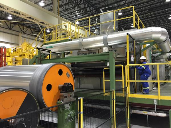Rolls of aluminum at the Novelis plant in Oswego, N.Y.