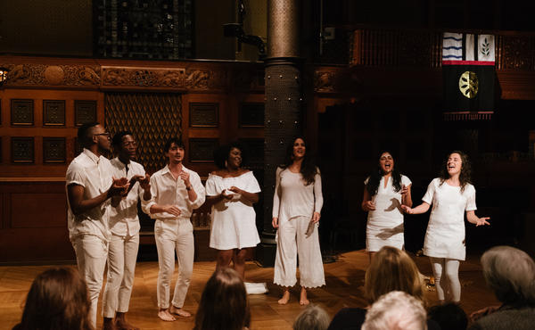 "The premiere of ""Folk Songs of Naboréa,"" a song cycle for seven voices and kora by Kavita Shah, presented at the Park Avenue Armory in New York in November, was one of Nate Chinen's gigs of the year."