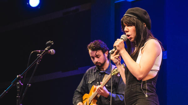 Hurray For The Riff Raff performs at World Cafe Live in Philadelphia.