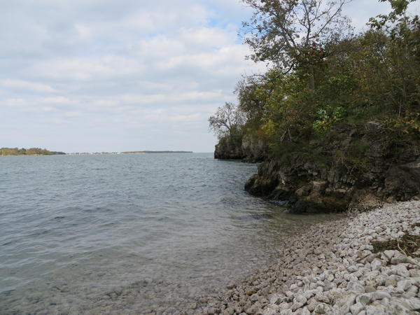Lake Erie at Massie Cliffside Preserve.