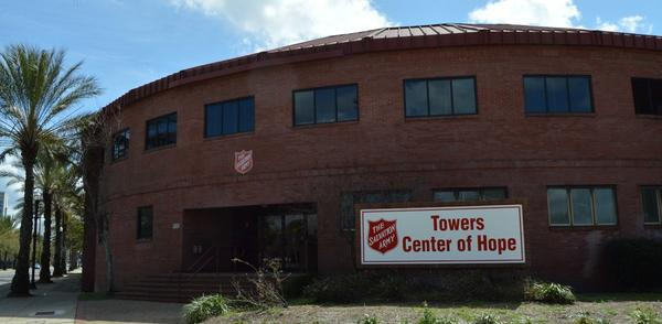 The Salvation Army location at 900 W. Adams St. is open to those needing shelter from the cold.