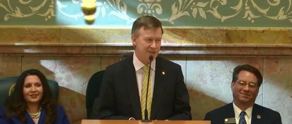 Gov. John Hickenlooper delivered his final State of the State on Jan. 11, 2018